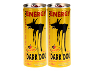 DARK DOG ENERGY DRINK BEBIDA ENERGIZANTE 250ML 4 UNID PACK
